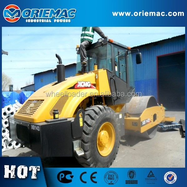 Smooth Wheel XS143 14Ton Vibratory Road Roller Compactor Machine