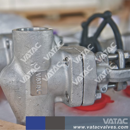 Forged Steel Welded Bonnet/Bolted Bonnet 6000 PSI/CL6000# Gate Valve