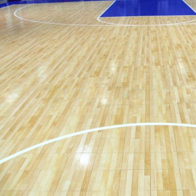 Maple Hardwood Basketball Courts Indoor