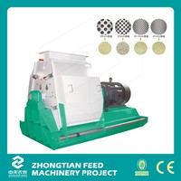 ZTMT Large Range of Application Poultry Hammer Mill