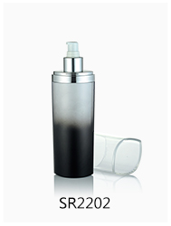 Luxury custom design cosmetic packaging unique lotion bottles for skin care