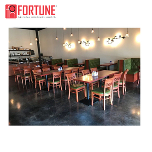 Asian restaurant furniture 800*800 dining tables and chairs for thai restaurant
