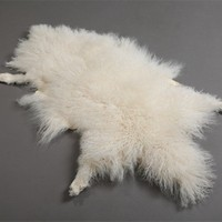 Animal Fur Plate/Mongolian Tibetan Lamb Fur Pelt