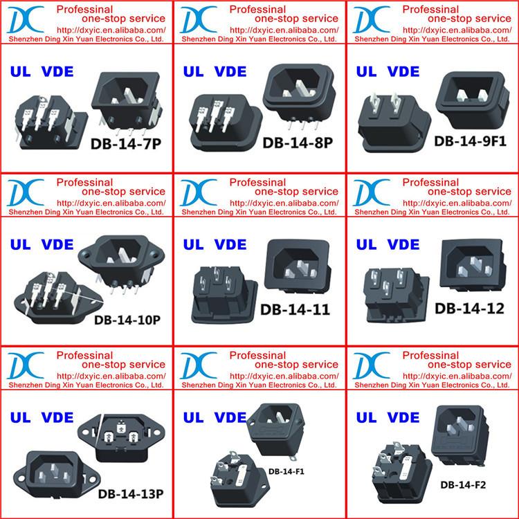 Copy 6180.0007 Ac Power Entry Connectors Iec 320-c7 5088 Appliance ...