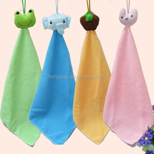 Absorbent Terry Cotton Cloth Printed Hanging Kitchen small Hand Towels