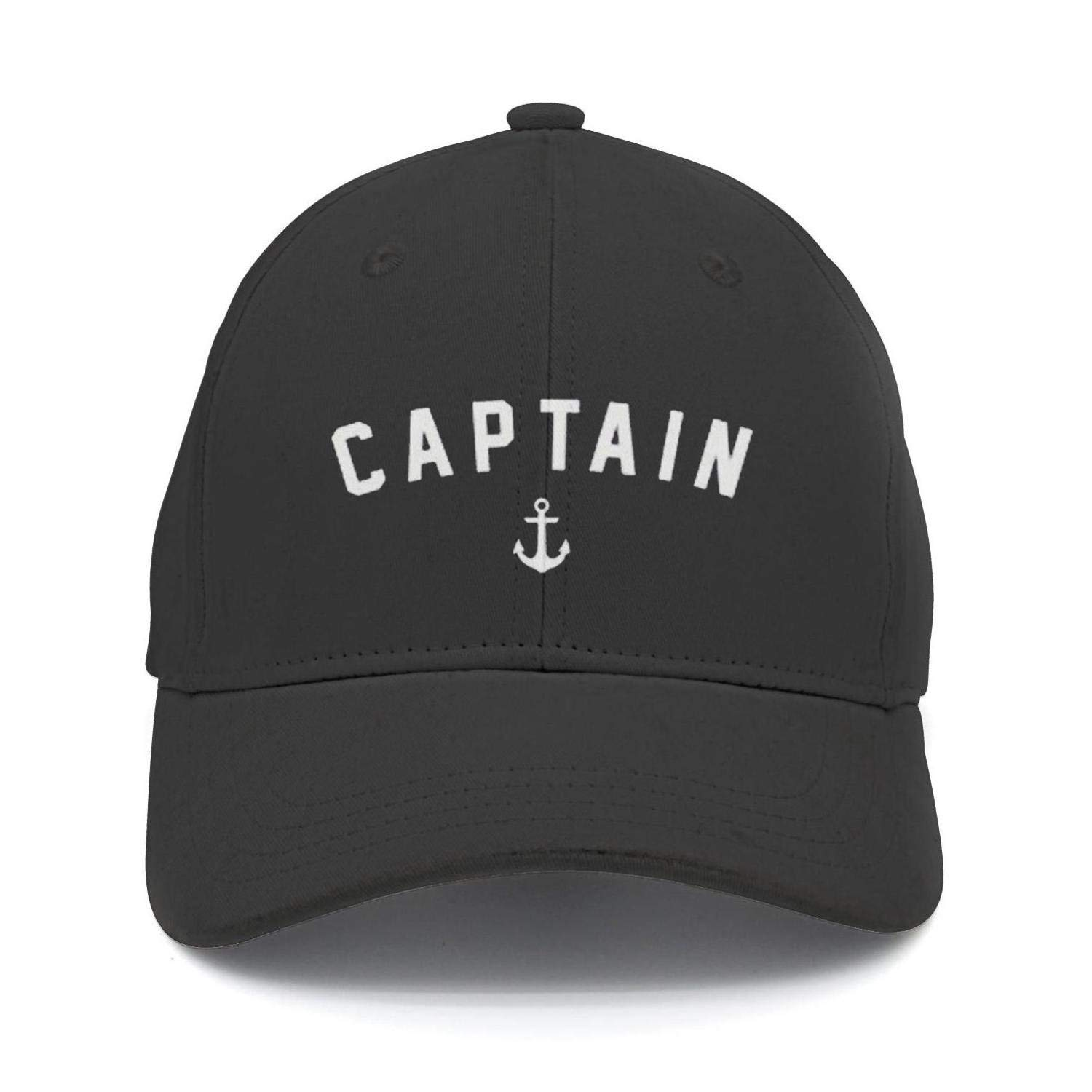 Get Quotations · SNB WY Anchor Captain Sailing Snapback Hat Fitted Design Cap  Trucker 6f0bfd0932e0