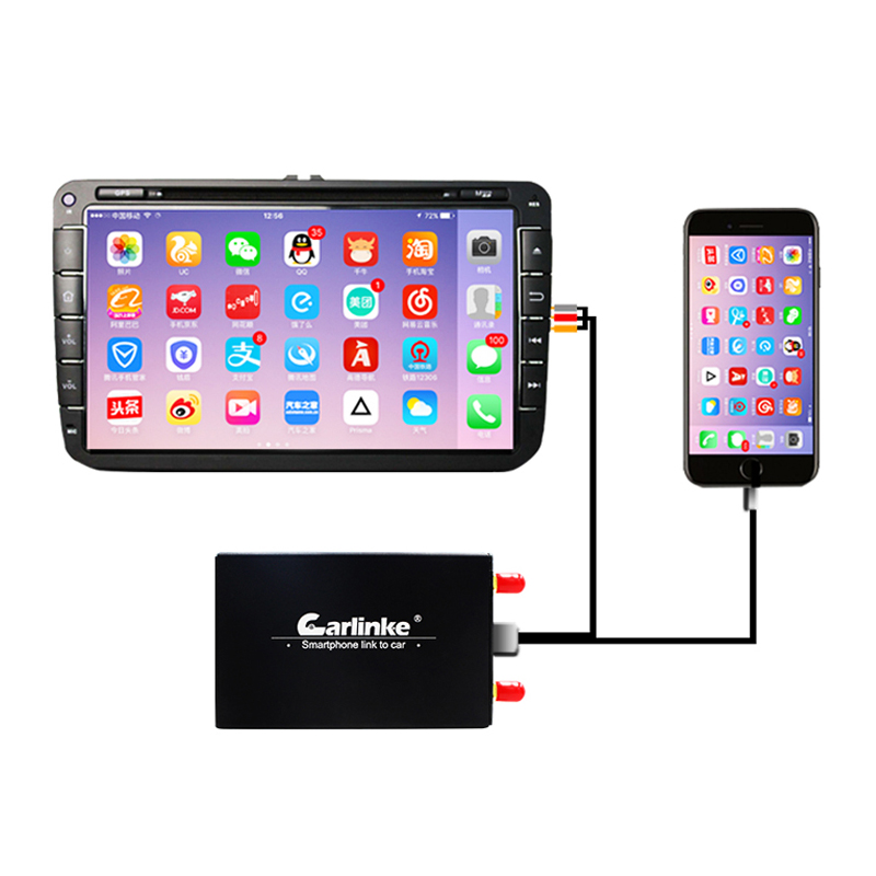 Carlinkit display auto spiegel link box DLNA airplay android auto wifi spiegel