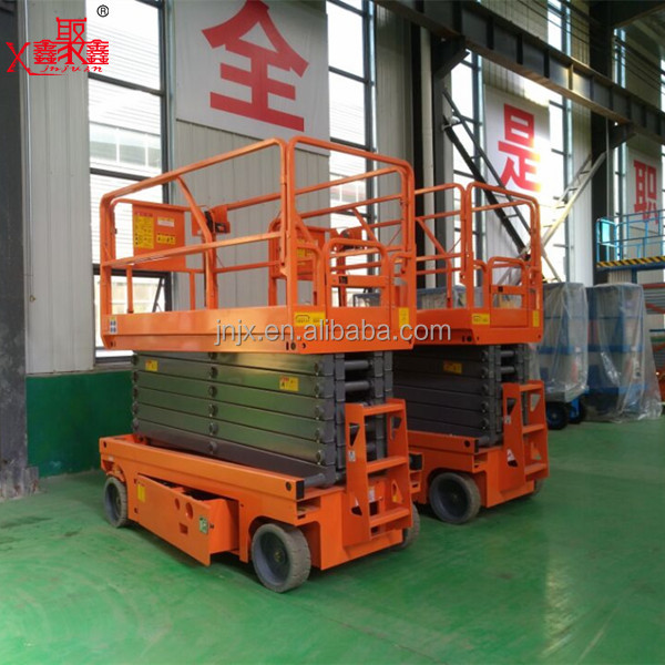 Hydraulic mobile genie lift aerial work platform