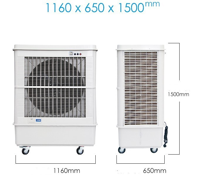 Large industrial cooling fan single cold water evaporative cooling fan air conditioning,Water conditioner abanicos ventiladores de casa