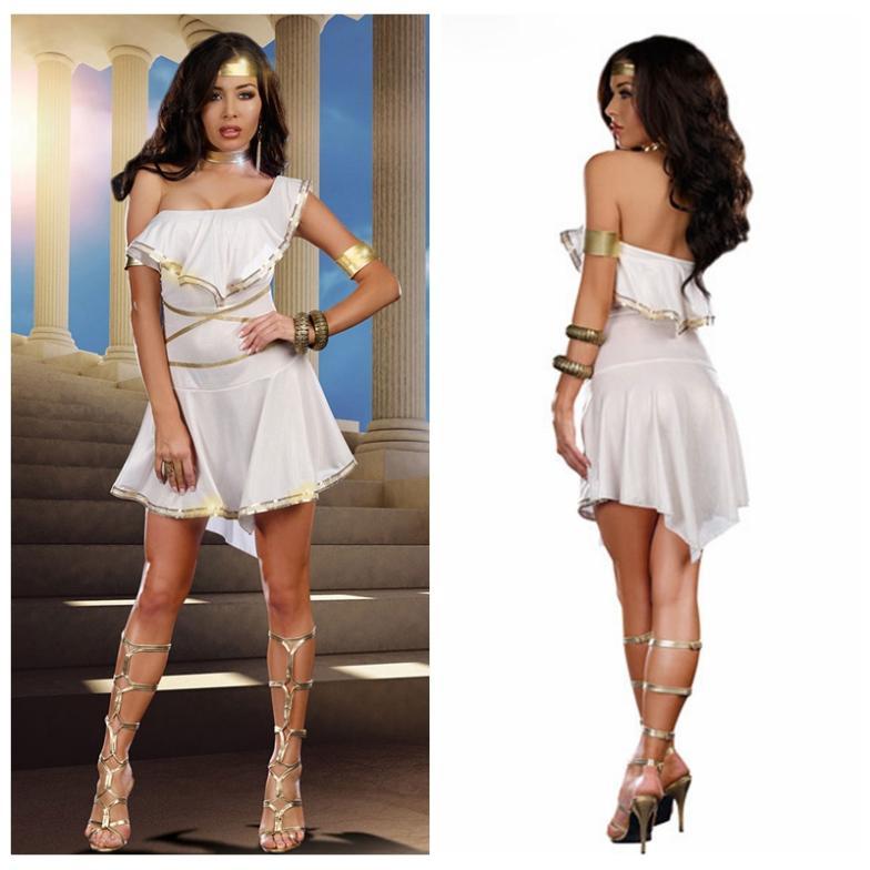 Egyptian Goddess Costumes Greek Goddess Dance Girls Dress Wonder Women 6384103f5f85