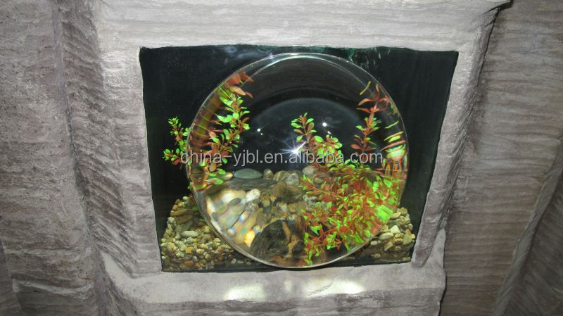Oem waterval led bubble acryl buis aquarium