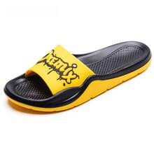 ONEMIX мужские и женские повседневные шлепанцы на плоской подошве, модные персональные уличные Нескользящие летние сандалии, пляжная обувь ун...(Китай)