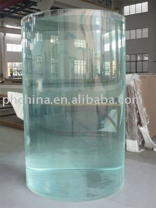 Jaa-186 Large Round Plexiglass Fish Tank