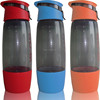 640ml protein shaker bottle with lock lids and holder bpa free