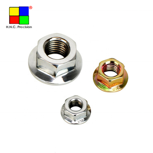 Custom Knurled Brass Stainless Steel Hex Flange Insert Nuts
