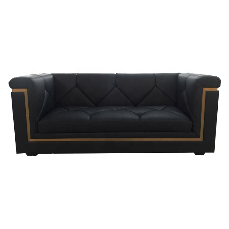 Moontree MSF-1219 Luxury Hotel Luxury Bar Furniture Booth Leather <strong>Sofa</strong>
