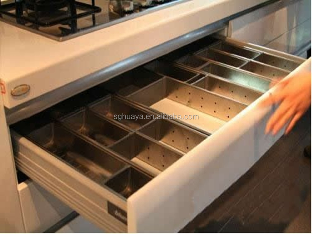 High Quality Lacquer Kitchen Cabinet/Blum And Hettich Soft Close Drawer  Runner