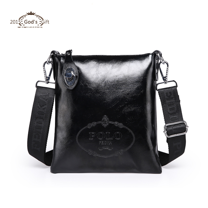 c32989d7aa Get Quotations · 2015 Polo Designer Brand Men s Cross body bags Vintage  Style Skin Genuine Leather shoulder China handbags