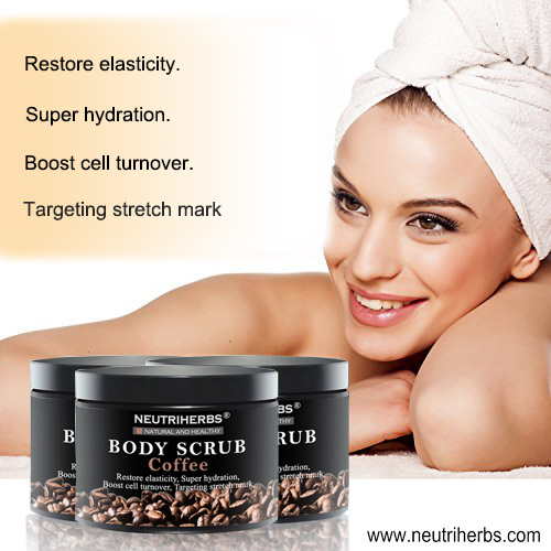 Budget organic coffee scrub face scrub for Boosts Cell Turnover; Targeting Stretch Mark.