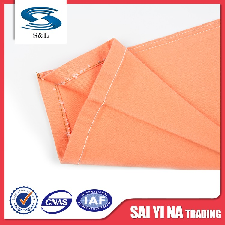 Plain dyeing spandex poplin polyurethane cotton fabric in roll for garment
