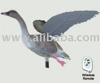 Flapping Wings Goose Decoy (Pink-Feet - Wireless Remote)