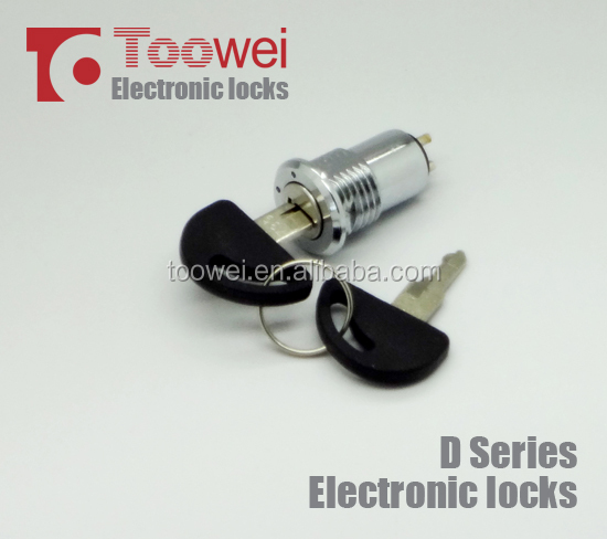 16MM 2 position key lock switch