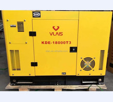 Factory price OEM service colour 12kw 15 kva 3 phase diesel generator