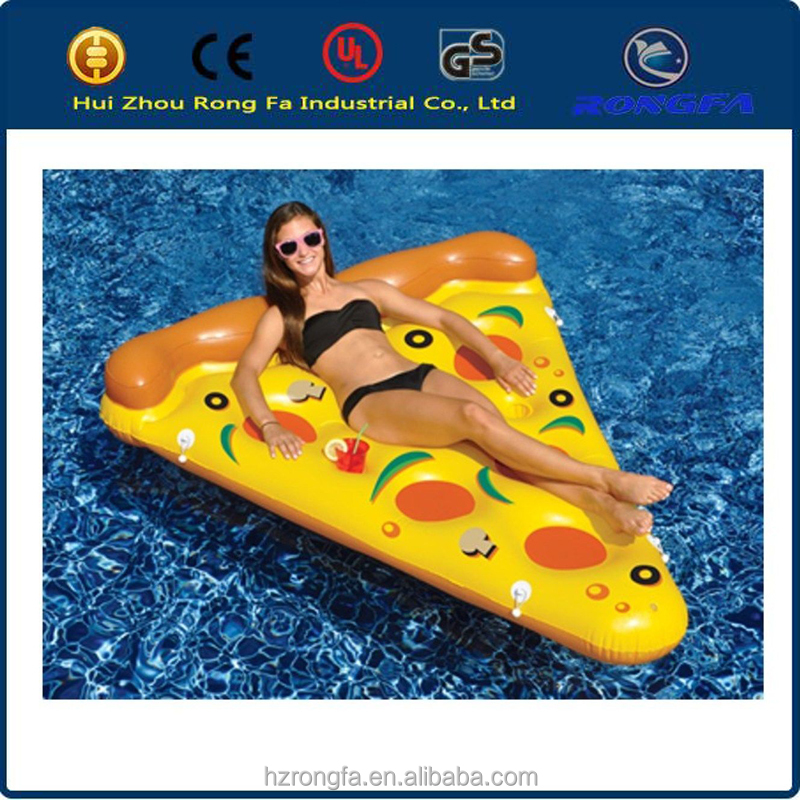 Lounge Float Inflatable Pizza Slice Swimming Raft new