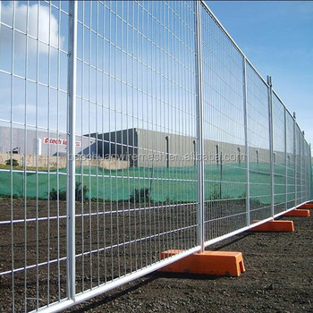 10 foot l8 foot h temporary fence with brace