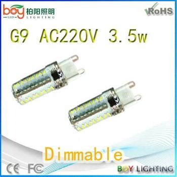 G9 Led Dimmable 220 Volt Led Light Bulbs Ce Rosh Led G9 Dimmable ...