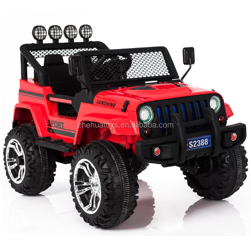 12v 2 seater ride on car jeep kids electric cars for big kids