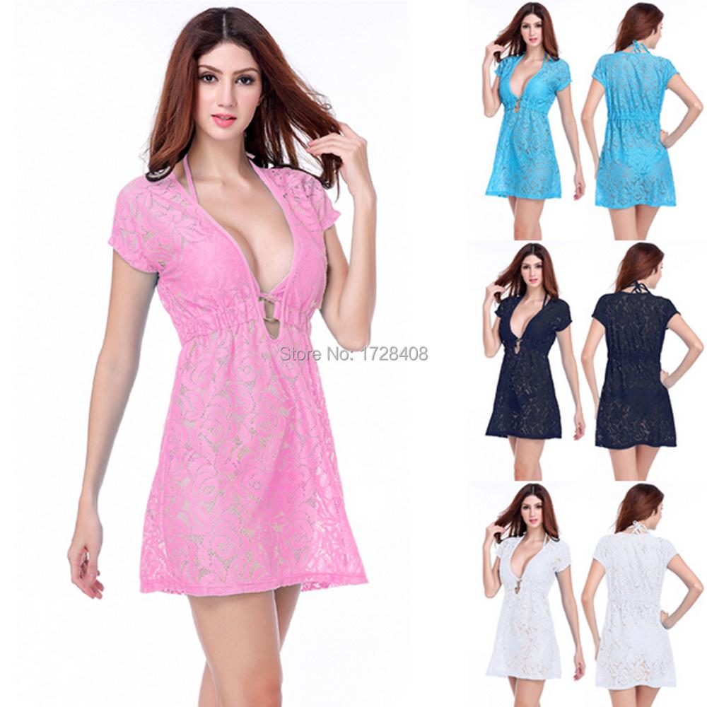 Get Quotations 2017 Women S Hot Ing Free Shipping Beautiful Beach Cover Up Beachwear Dress