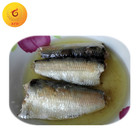 Chinese 125g Canned Sardine in White Oil Wholesale Canned Sardine Fish