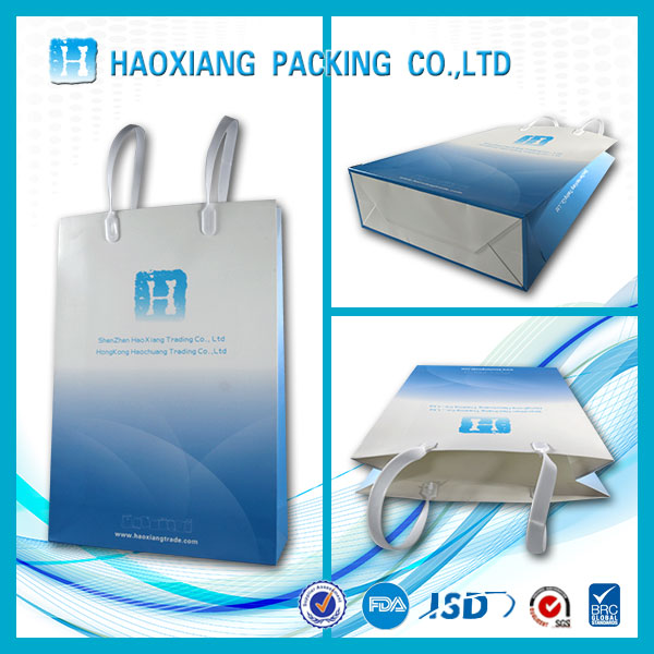 New products 2016 cheap christmas plastic vegetable packaging folding shopping bags