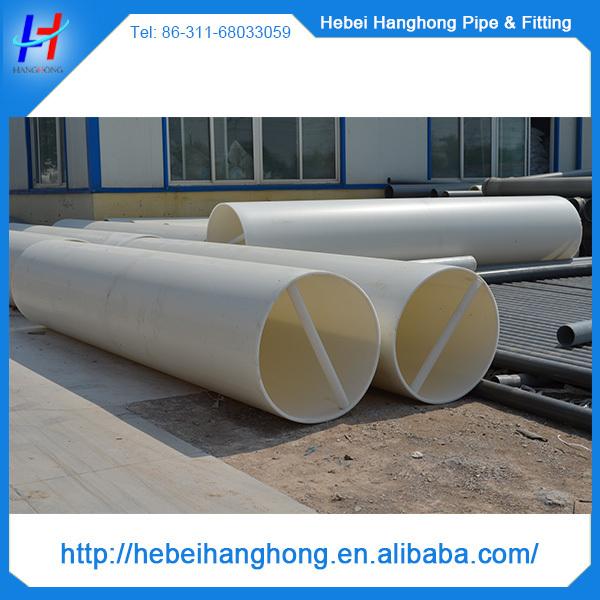 Mm water supply large diameter pvc pipe