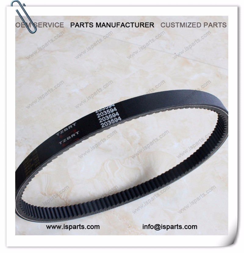 Good quality go kart small drive belt transmission belt 203594 V belt
