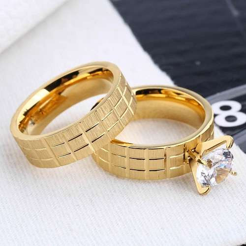 wedding rings gold 18kthe latest gold finger ring designs 2017 buy the latest gold finger rings designs 2017wedding ringsrings product on alibabacom - Wedding Rings Gold
