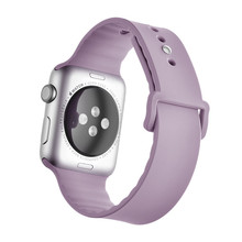 For Apple Watch Silicone Band, New Version Silicone Strap Band for Apple Watch