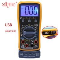 DT4300A network digital multimeter usb data hold pocket tester mini