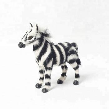 Best Price Promotional Handicraft Standing Plastic Zebra Toy Buy