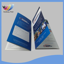 free samples A4 Advertising leaflet/flyer/brochure printing made in China