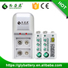 GLE-V92 9V DC 80mA NIMH Rechargeable Battery Charger For 9v Battery