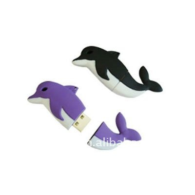 promotional gift dolphin 4GB 8GB 16GB USB flash disk/ memory stick