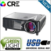 In stock multimedia projector Projection TV V8 video fullhd Portable home theater HDMI VGA AV Mini Beamer LED projector