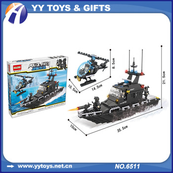 Children 3 D Puzzle Diy Toy Helicopter Model Boat Model Building Blocks  Toys - Buy 3d Puzzle Diy Toy,Model Boat,Helicopter Model Product on