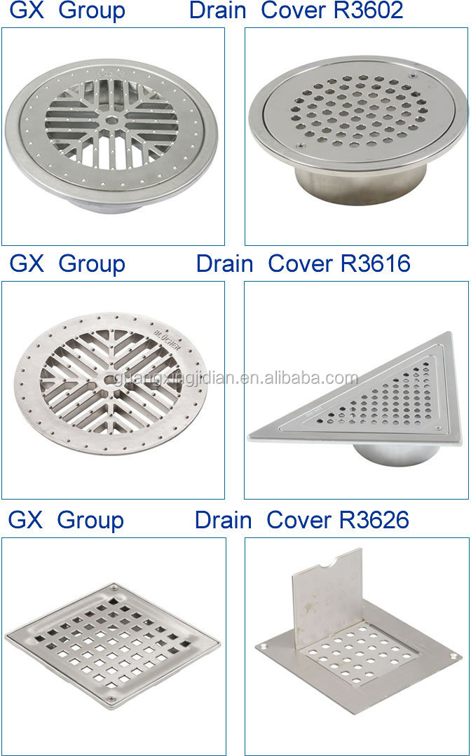 Drain gutter cover buy hole