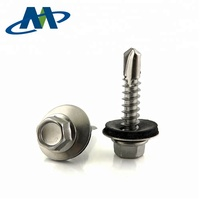 Stainless Steel Hex Washer head Roofing Self Drilling Screw