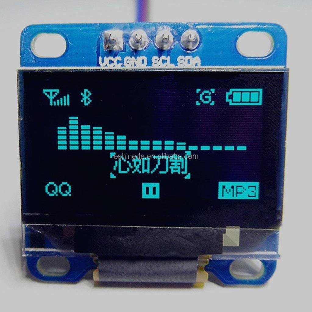 """New 0.96"""" I2c Iic Spi Serial 128x64 Oled Lcd Led Display Module ..."""