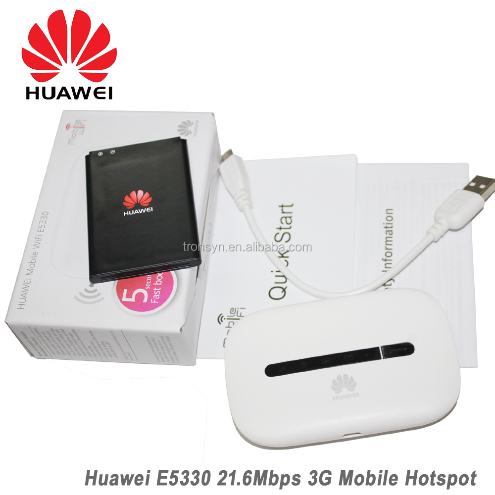 HSPA+ 21.6Mbps Huawei E5330 Low Price Pocket WiFi 3G Wireless Router With Sim Card slot
