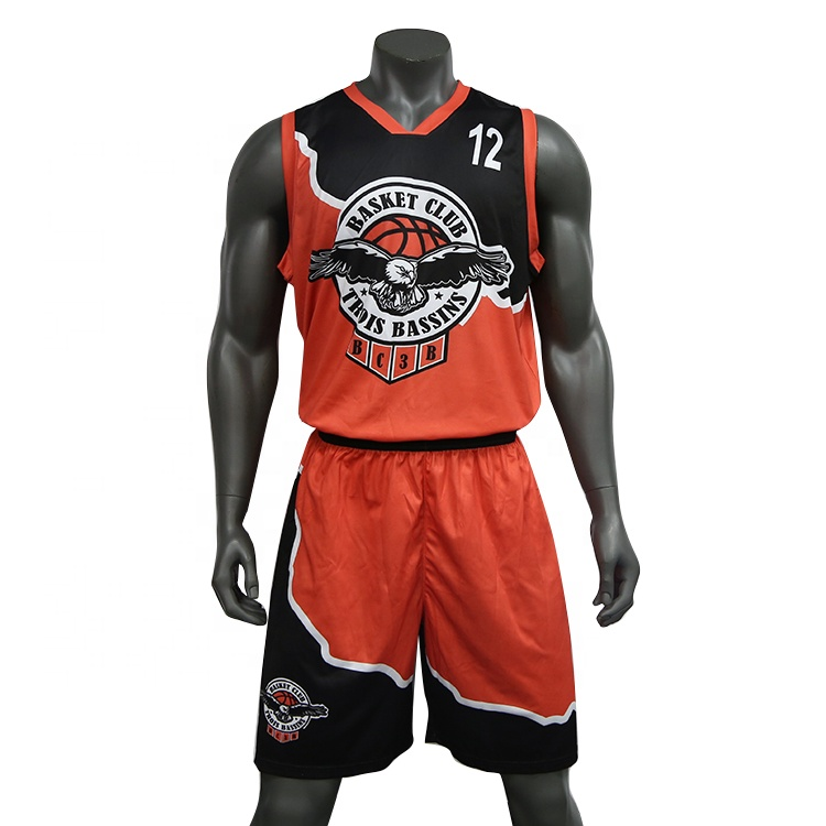Basketball Trikots 2018 Benutzerdefinierte Logo Großhandel Team Basketball Uniform Set